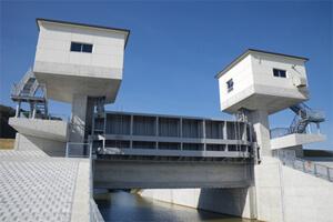 明久川水門